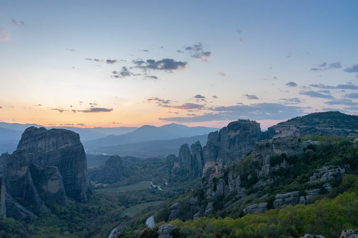 Outdoor Meteora: Hiking & Yoga Excursion